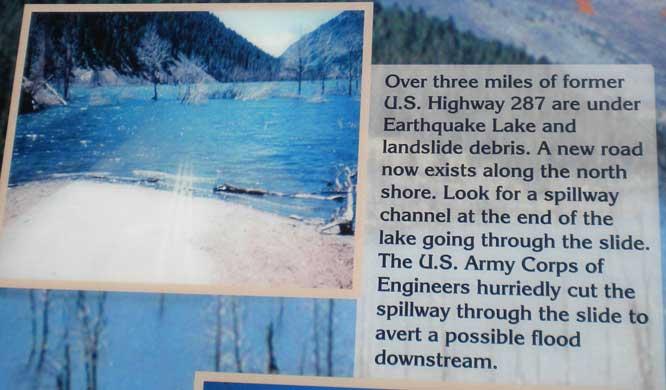 Madison River Canyon Earthquake Area West Yellowstone